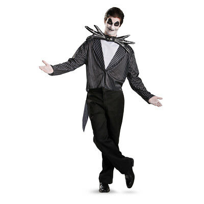 Jack Skellington Adult Standard Size Costume XL - Jack Skellington Costume Adult