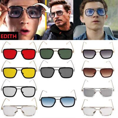 Fashion For Iron Man Sunglass Square Robert Downey TONY STARK Pilot (Sunglass For Man)