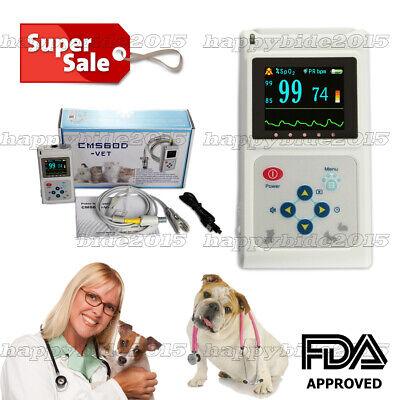 Veterinary Handheld 1.8tft Oximeteroxymeter Spo2 Monitorpc Softwareanimals