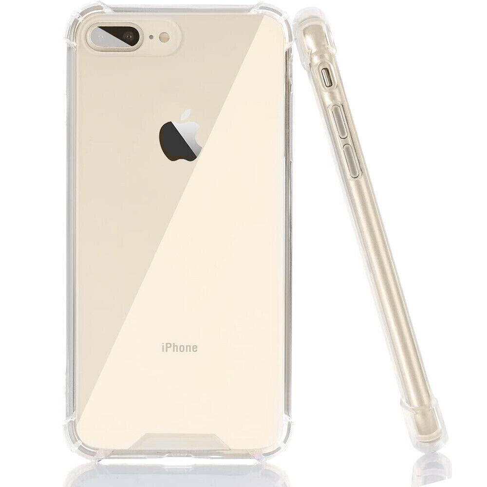 Apple iPhone 7 Plus 5.5 Silicone Case - TPU Clear Air Cushio
