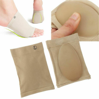 Arch Support Gel Orthotic Insole Plantar Fasciitis Foot Sleeve Cushion (1 PAIR) Arch Supports Plantar Fasciitis