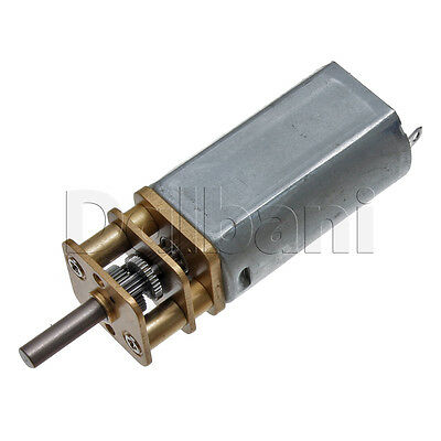 12v Dc 120 Rpm High Torque Open Gearbox Electric Motor