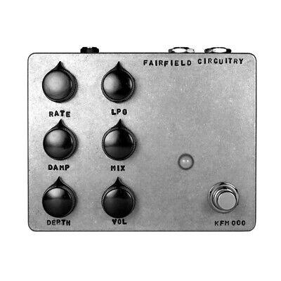 Fairfield Circuitry Shallow Water K-Field Modulator Delay Guitar Effects Pedal