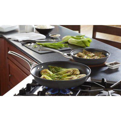 "Frying Pan Set Calphalon Contemporary Nonstick Hard-Anodized Aluminum 10"" & 12"""