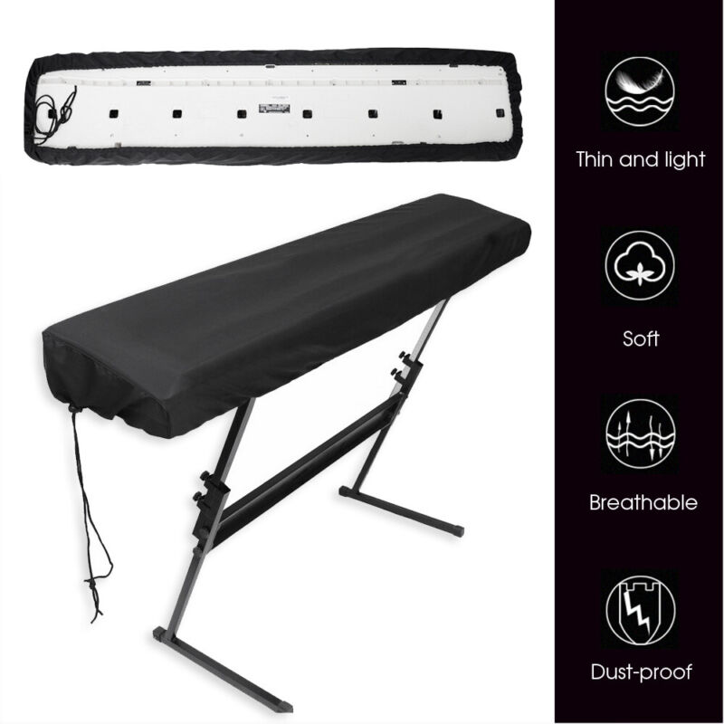 88 Keys Electronic Keyboard Digital Piano Cover Keyboard Dust Water Protector