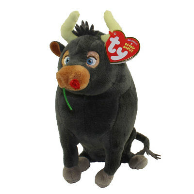 "TY Beanie Baby 6"" Ferdinand the Bull Plush Stuffed Animal w/ MWMT"