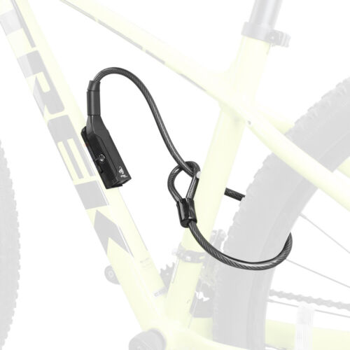 """BV Bike Key Cable Lock Double Security Lock Frame Mount Anti-Theft 27.5"""" UL-02"""