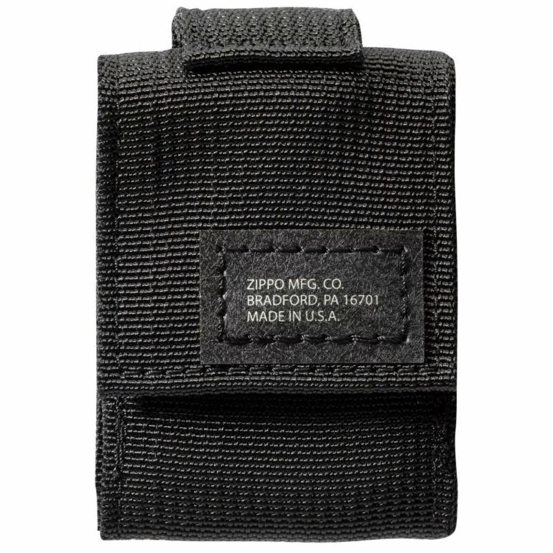 Zippo Black Tactical Lighter Pouch, 48400