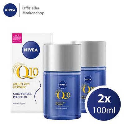 NIVEA Q10 Straffendes Pflege-Öl gegen Dehnungsstreifen Massage Öl (2x100ml)