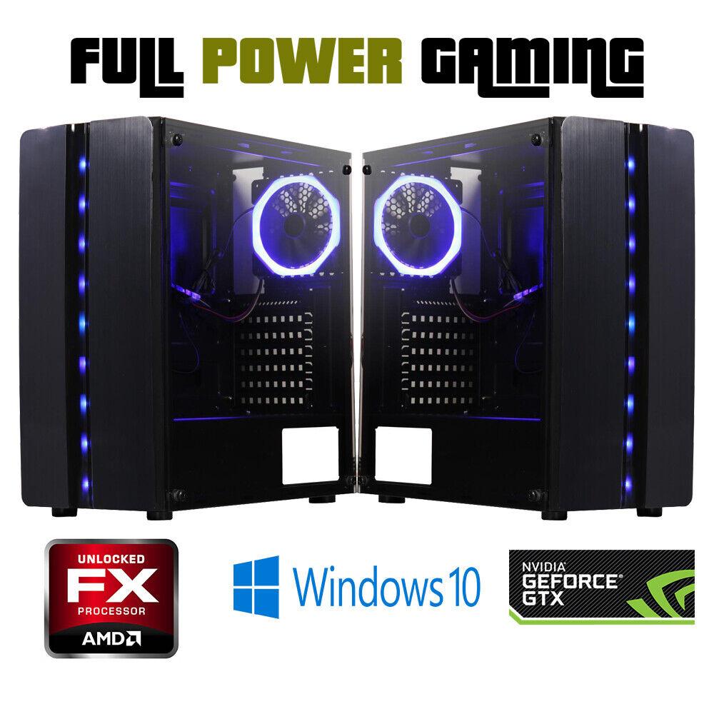 custom built gaming desktop pc amd fx