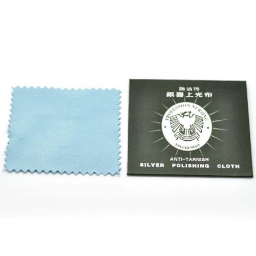 1 5 10 pcs anti tarnish silver polishing cleaning cloth