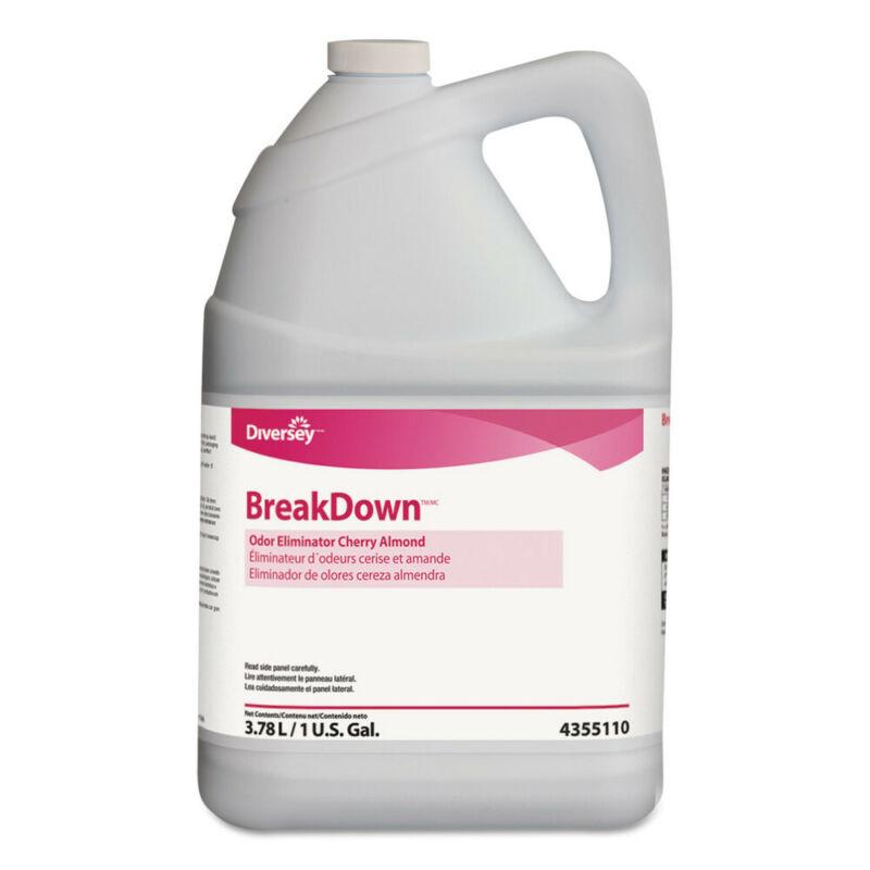 Diversey Odor Eliminator Cherry Almond Scent Liquid 1 Gal. 4/ctn 94355110 NEW