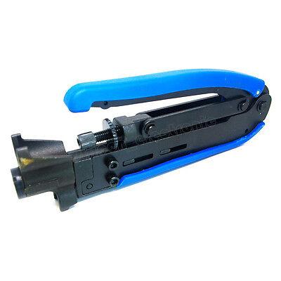 RG59 RG6 RG11 Compression Tool Coaxial Cable Adjustable Crimper F Coax Connector