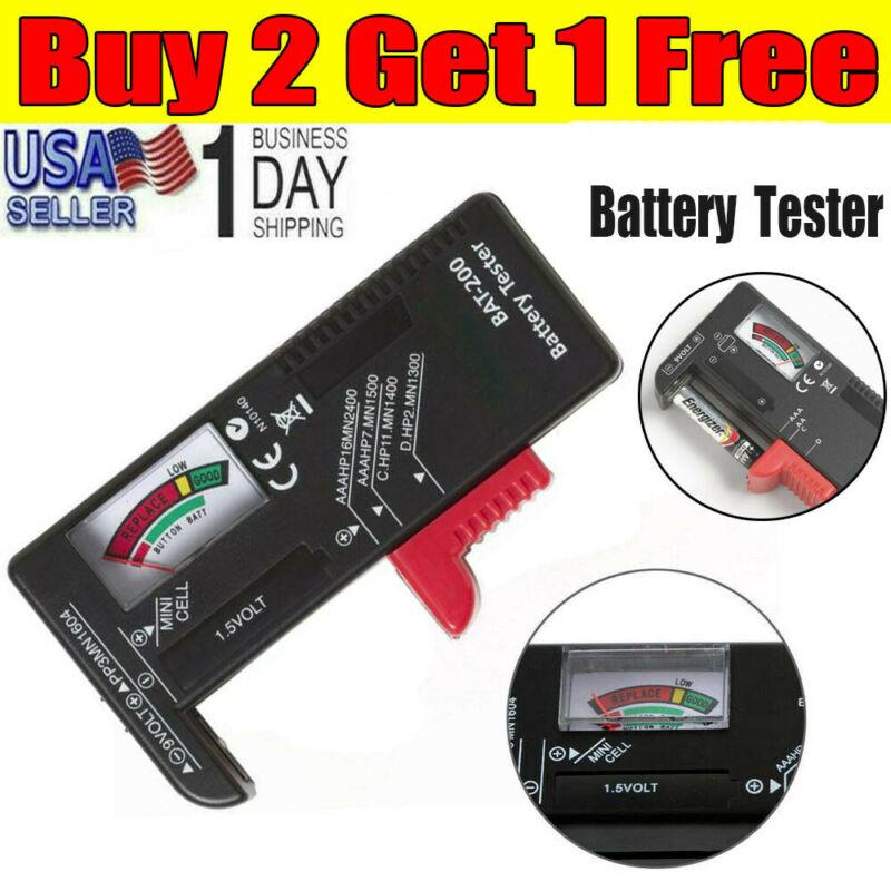 digital battery tester checker for aa aaa