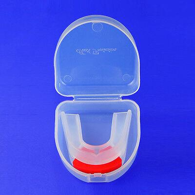 Zahnschutz Doppel Zahnschiene Mundschutz Ober und Unterkiefer Double Mouthguard