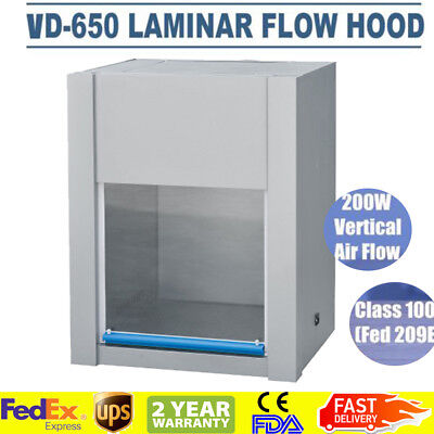 Laminar Flow Hood Air Flow Vd650 Medicine 200w Chemical Experiment Dish90 H