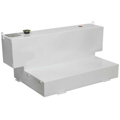 Delta 98-gal. L-shaped Steel Liquid Transfer Tank - White 498000 New