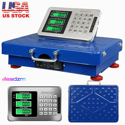 Commercial Scales Digital Platform Postal Scale Electronic Weight 200kg441lbs