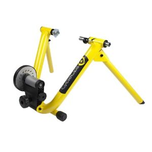 Cycleops Mag Bicycle Exercise Trainer Bike Yellow Indoor Stationary 1020 NEW