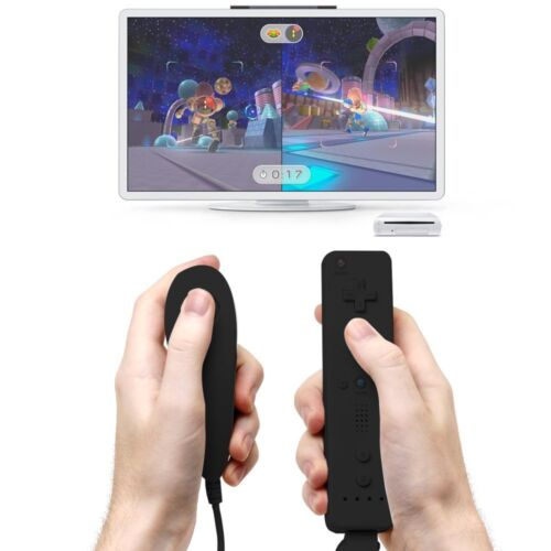Wii Remote Controller Motion Plus and Nunchuck for Wii/Wii U Console Video Games