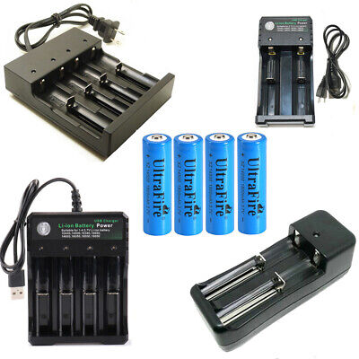 UltraFire 1800mAh 14500 Battery 3.7V Li-ion Rechargeable Battery+Smart Charger 1800mah Li Ion Battery