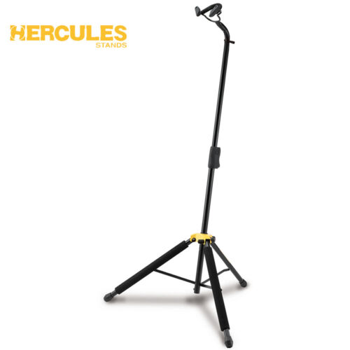 Hercules DS580B Cello Stand with Auto Grip System Fits 1/4 3/8 1/2 3/4 7/8 4/4