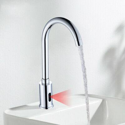 Automatic Touchless Electronic Sensor Faucet Sink Bathroom Kitchen Cold Tap USA