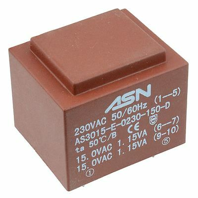 0-9v 0-9v 2.3va 230v Encapsulated Pcb Transformer