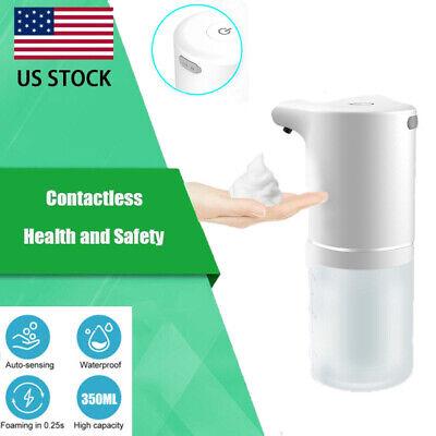 Automatic Touchless Soap Dispenser Liquid 350ml Hands-free Ir Sensor Wall Mount