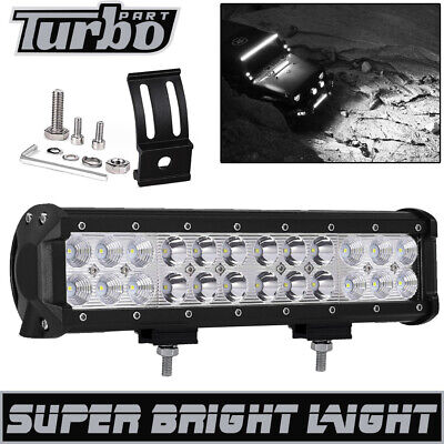 12inch 72w 24led Work Light Bar Combo Beam Driving Fog Lamp Off-road Tractor 4wd
