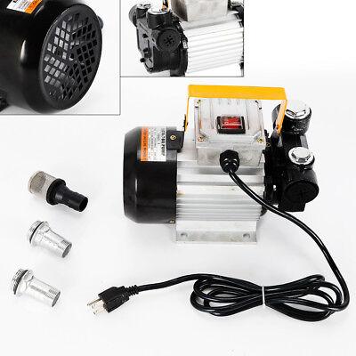 Self Priming Electric Oil Pump Transfer Fuel Diesel 110v Ac 16gpm 550w 2800rm