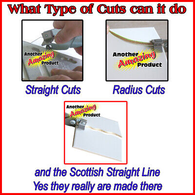 The Amazing Tile And Glass Cutter™ Ceramic Floor Mirrors Stained Glass Mosaics 4