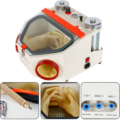 Dental Double Pen Fine Sandblaster Dental Polishing Machine Sand Blaster W Lamp