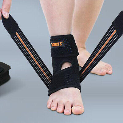 Ankle Brace Compression Support Tendon Plantar Sprain Foot Wrap Joint Bandage US