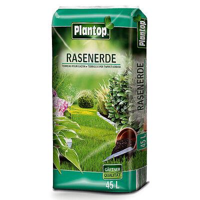 Rasenerde Plantop 45 Liter NEU Rasensubstrat Rollrasenerde Qualität aus Bayern !