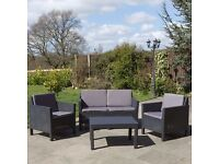 *SOLD* Garden furniture set (2 chairs, sofa, table) *NEW* never been used *