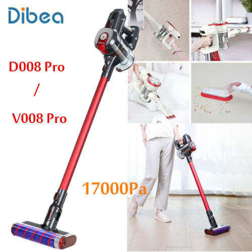Dibea D008 Pro / V008 Pro Wireless 2-in-1 Vacuum Cleaner 17000Pa Srtong Suction