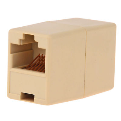NEW-Cat5 RJ45 Lan Network Ethernet Cable Extender Joiner Adapter Coupler