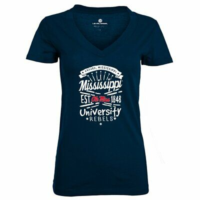 Levelwear NCAA Mississippi Ole Miss Rebels Women's Anthem Entice Tee Size (Mississippi Rebels Ncaa Tee)