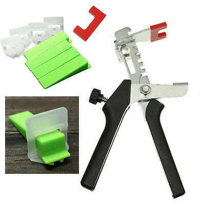 Nivelliersystem Tile Leveling System Construction Tools Wedges+Clips+Pliers DE