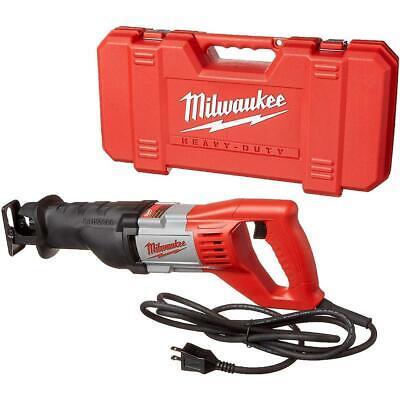 Milwaukee 6519-31 12 Amp Sawzall Reciprocating Saw with 1-1/