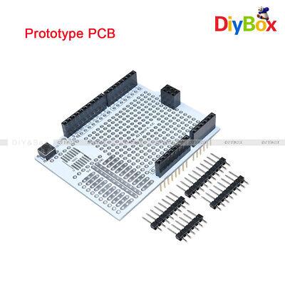 Prototype Pcb Expansion Board Protoshield Breadboard For Arduino Uno R3 Diy Kit
