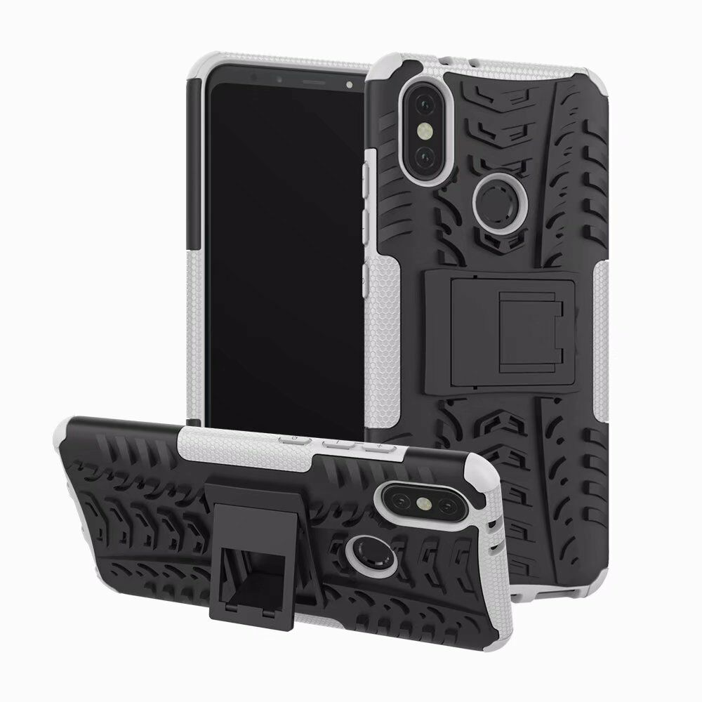 Hybrid Rugged Shockproof Stand Hard Case Cover For Xiaomi 6x Redmi Note 5 Pro Kickstand Armor Series