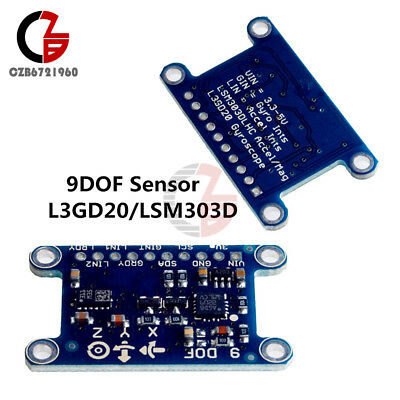 9dof Imu Breakout 9-axis L3gd20lsm303d Pressure Digital Gyroscope Sensor Module