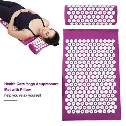 Acupressure Mat Massage Pillow Pain