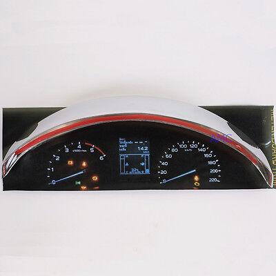 Fit 2012-2014 Isuzu Colorado D-Max Ute Gauge Premuim Chrome Cover Trim Pickup