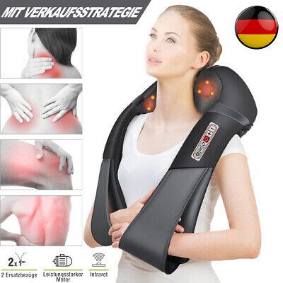 Massagegerät Shiatsu Nacken Rücken Elektrische Massage mit Wärmefunktion