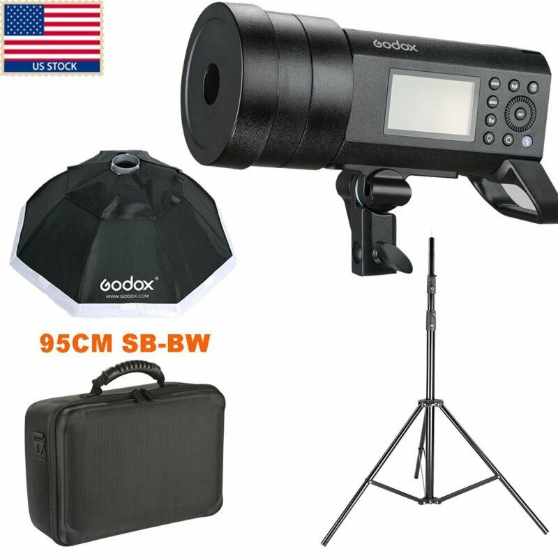 Godox AD400Pro 400Ws Wireless TTL All-in-One Studio Outdoor Flash +Softbox US