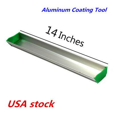 Us Stock 14 Emulsion Scoop Coater Silk Screen Printing Aluminum Coating Tool