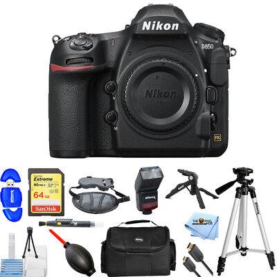 Nikon D850 DSLR Camera (Body Only) PRO BUNDLE BRAND NEW